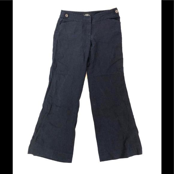J. Crew Pants - J. Crew Blue Linen Pants